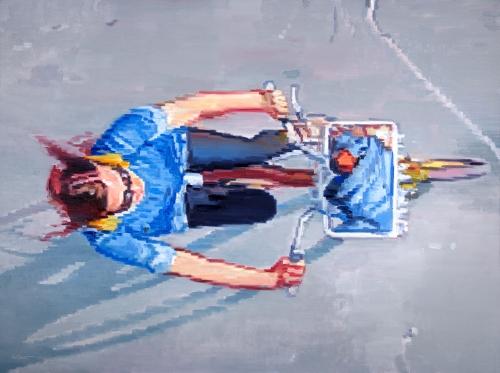 original Impressionistic figure painting